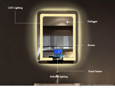 Led Lighting Behind Mirrors