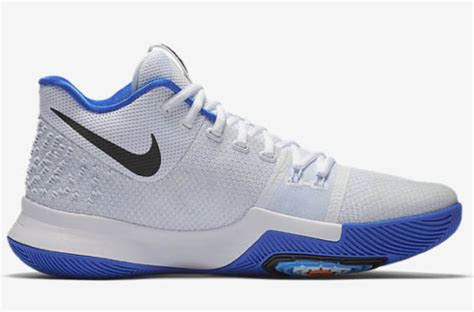 Free Tali Sepatu Nike Kyrie 3 Hyper Cobalt Irving Iii White Blue 1 official images of the nike kyrie 3 hyper cobalt