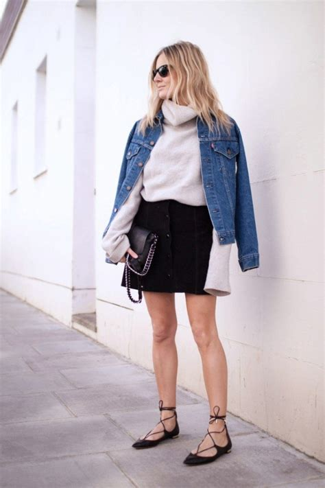 20 chic ways to wear suede skirts pretty designs