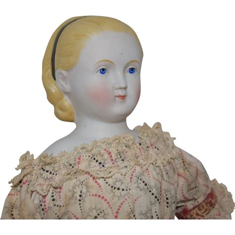 parian doll head antique parian bisque doll with hairstyle by