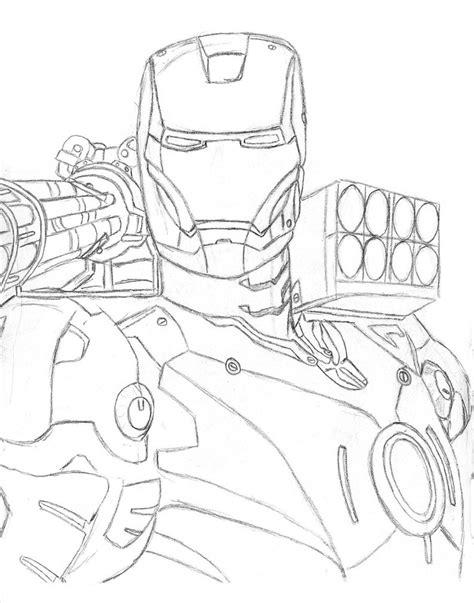 war machine pencil sketch by darthfloyd81 on deviantart