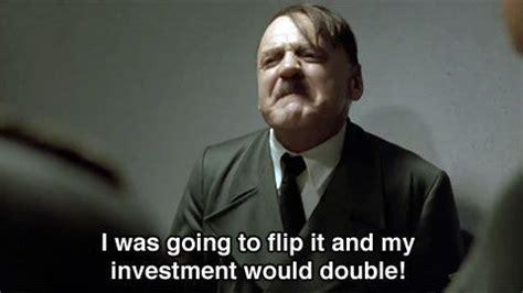 Hitler Movie Meme - november 3rd 2008 hitler deals with the heavy news of