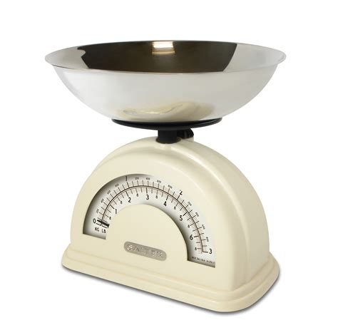 Vintage Kitchen Scales by Salter Vintage Style Mechanical Kitchen Scale With Bowl