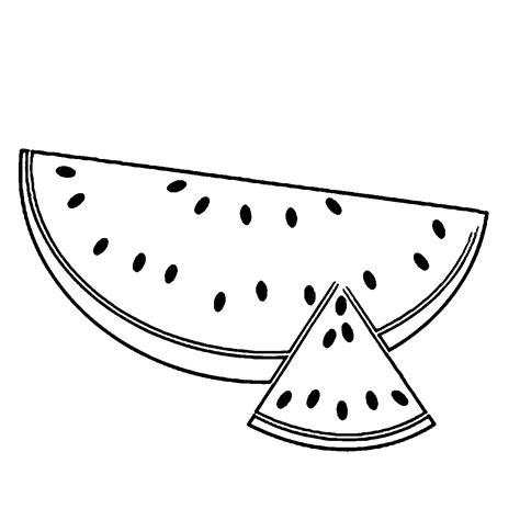 preschool watermelon coloring pages coloring in spanish 9482