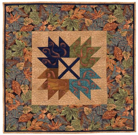 Leaf Quilt by One Quilt Block So Many Possibilities Day 3 Maple Leaf