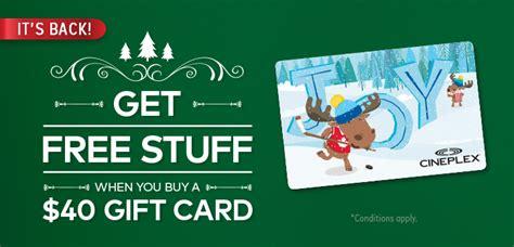 cineplex holiday gift bundle cineplex com news