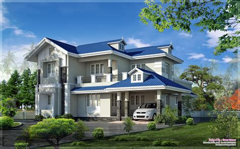 small green home plans very beautiful kerala home elevation at 2415 sq ft the