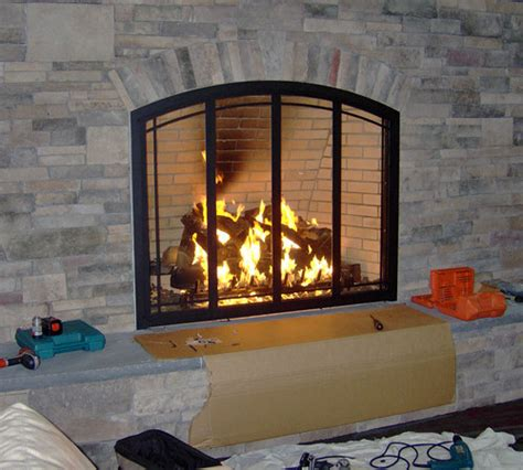 Installing Glass Fireplace Doors How To Install Glass Fireplace Doors Overview How To Install Glass Fireplace Doors This House