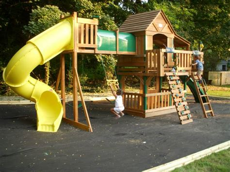 swing set tube slide swing sets assembly and installation nj