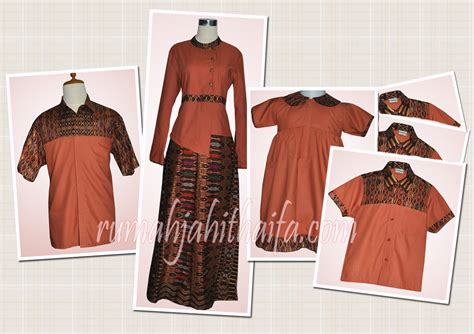 Baju Sarimbit Batik Srimpi Cp 2 baju keluarga rumah jahit haifa newhairstylesformen2014