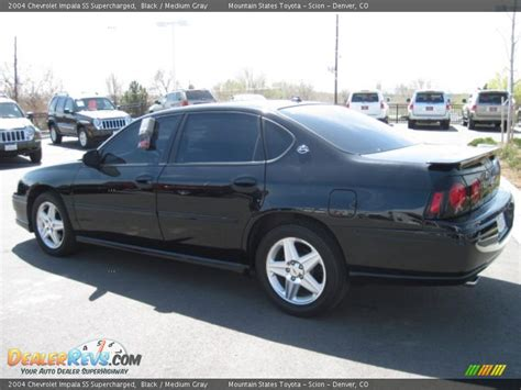 supercharged impala 2004 chevrolet impala ss supercharged black medium gray