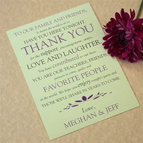 Wedding Place Cards Design Your Own by Wedding Place Setting Thank You Cards Text Play Design