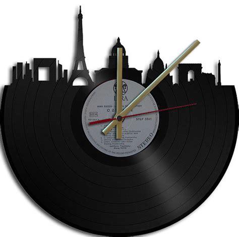 themed clock theme vinyl record clock by vinyl clock eclectic clocks by etsy