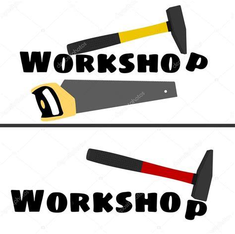 werkstatt logos werkstatt logo mit dem bild der hammer und eine s 228 ge