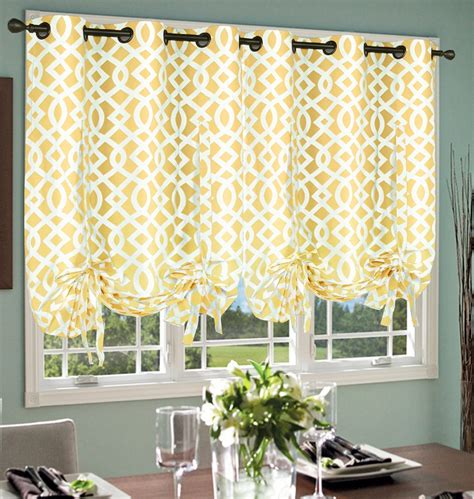 Tie Up Curtains Weathermate Grommet Tie Up Single Curtain Panel Curtain Ideas