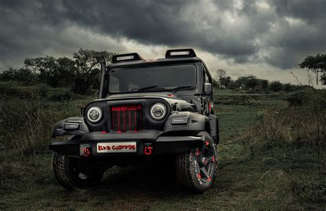 modified thar is this india s most majestic modified mahindra thar