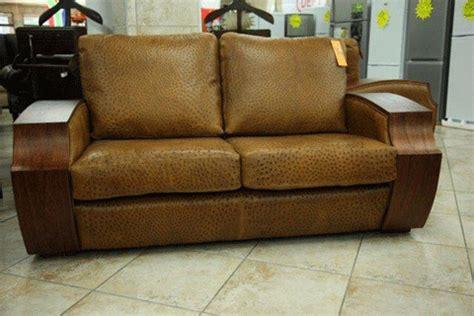ostrich leather couch furnworld international