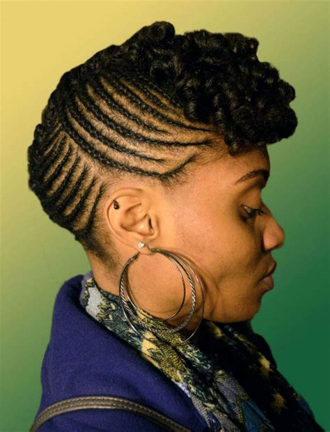 mohawk natural shortcuts pictures of natural hairstyles mohawk