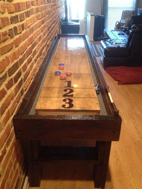 shuffleboard table baltimore and woods on