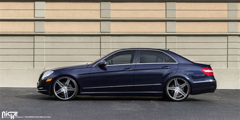 mercedes e350 rims this mercedes e350 with niche wheels is