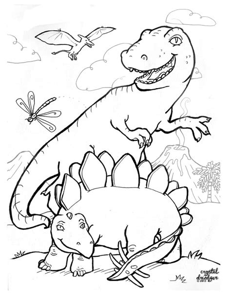 dancing dinosaur coloring page 34 best colouring pages images on pinterest activities