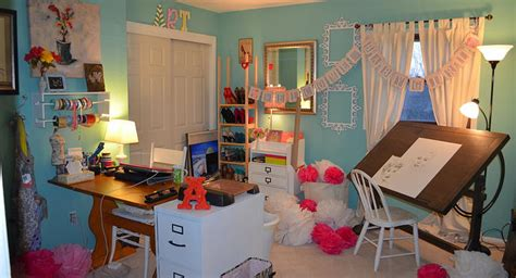 art and craft studio dingy bedroom flip to art studio with life the bloom