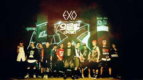 wallpaper exo growl exo growl teaser video hd wallpaper kr by yoojinkim