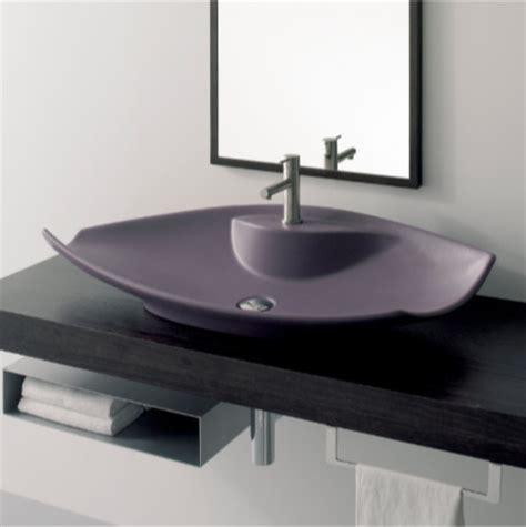 flat bathroom sinks unique white ceramic vessel sink with flat profile