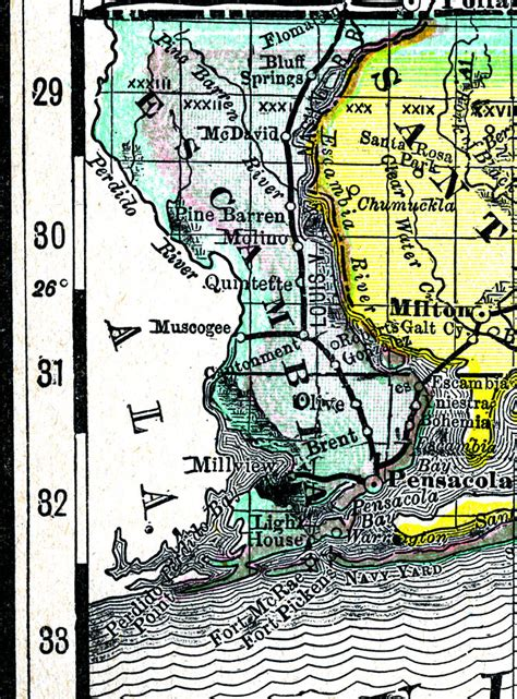 uwf cus map escambia county florida map 28 images map of escambia county florida 1932 escambia county