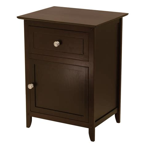 night stand winsome end night table by oj commerce 92815 55 45