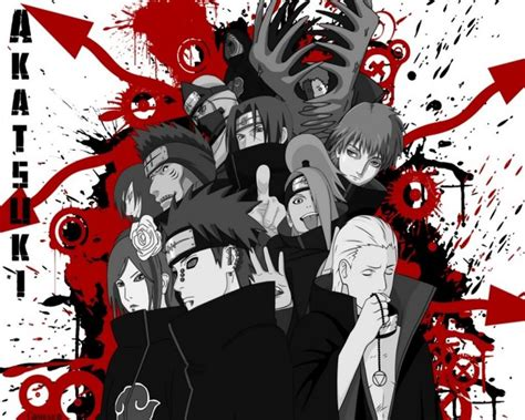 wallpaper bergerak akatsuki gambar akatsuki naruto wallpaper gratis game