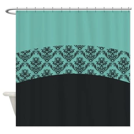 turquoise shower curtain liner turquoise shower curtain by totallyfabulous