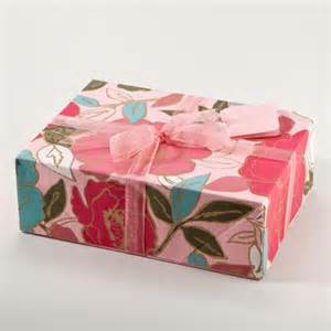 painterly floral fabric gift box set crafts and diy