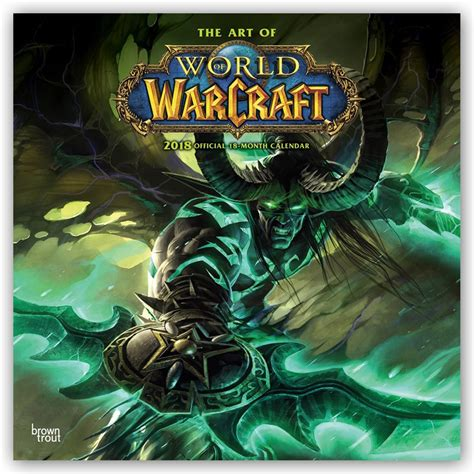 world of warcraft calendars 2019 on ukposters europosters - 1416287205 World Of Warcraft Calendar