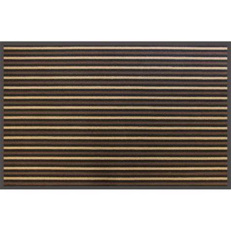 trafficmaster brown stripe 36 in x 60 in commercial door