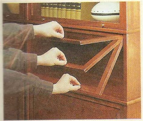 barrister bookcase door slides natures business shelves