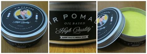 Pomade Di Medan terjual new sir pomade by sir salon official seller from sir salon kaskus