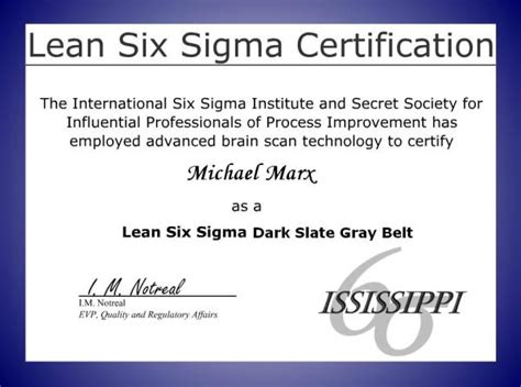 six sigma black belt certificate template moresteamand 146 s new lss certification