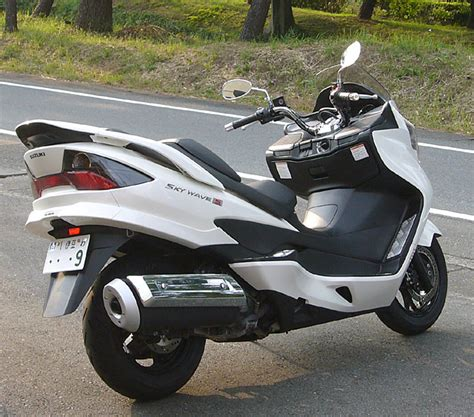 Types Of Suzuki Club Singles Rental Bike Suzuki Sky Wave 250 Type S