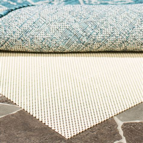 Outdoor Rug Pads Safavieh Outdoor Creme 8 Ft X 10 Ft Non Slip Rug Pad Pad140 8 The Home Depot