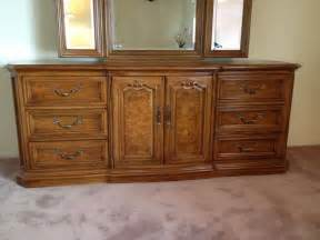 thomasville furniture provincial bedroom set