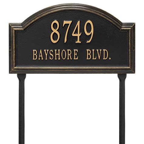 Address Plaques For Yard - providence arch lawn address plaque in lawn address plaques