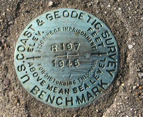 survey bench mark u s coast geodetic survey benchmark r197 u s