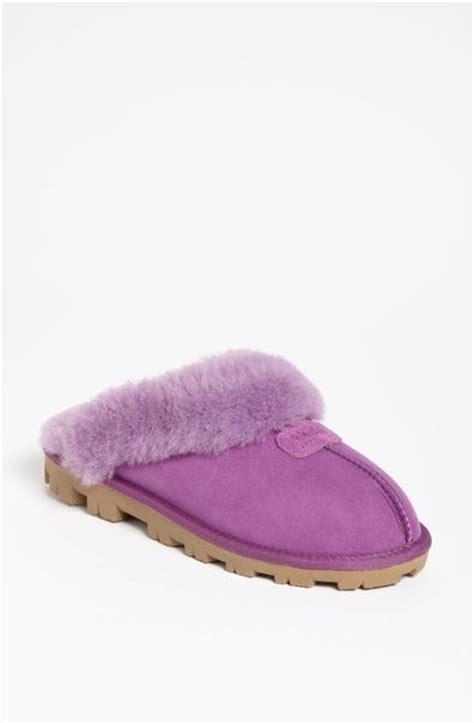 purple ugg slippers ugg coquette slipper in purple dried lavender lyst