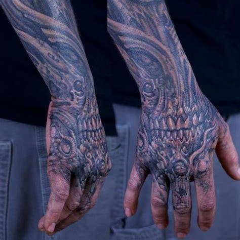 tattoo biomechanical hand biomechanical hand tattoo by graven image tattoo