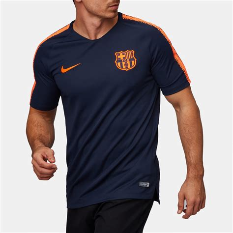 T Shirt Fc Barcelona 1 nike breathe fc barcelona squad football t shirt t shirts tops clothing s sale ksa