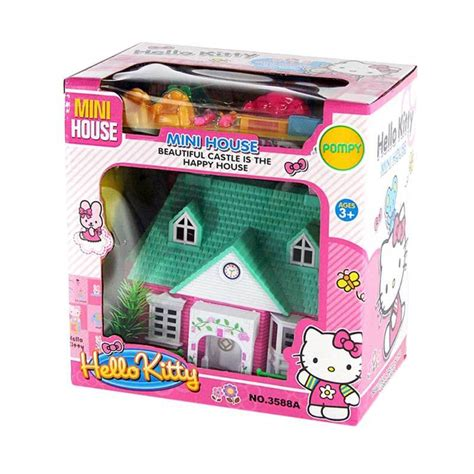 Mainan Rumah Rumahan Mini jual otoys pa 3588a hello mini house rumah rumahan mainan anak harga kualitas