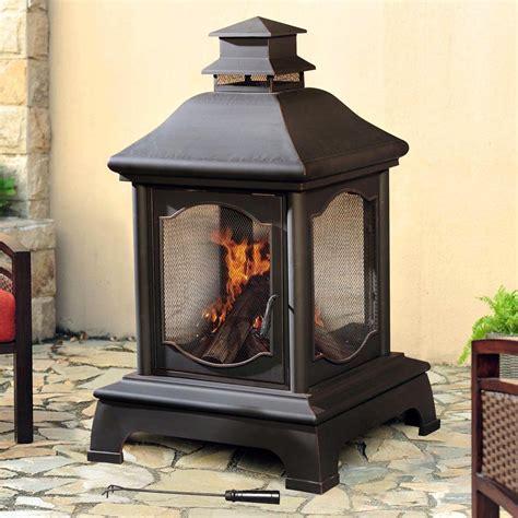 sunjoy 110504004 lakely fireplace lowe s canada