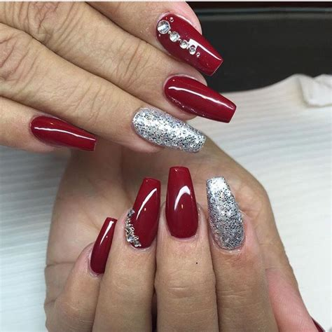2018 christmas nails theme acrylic nails ongles ongles manucure et ongles en gel acrylique