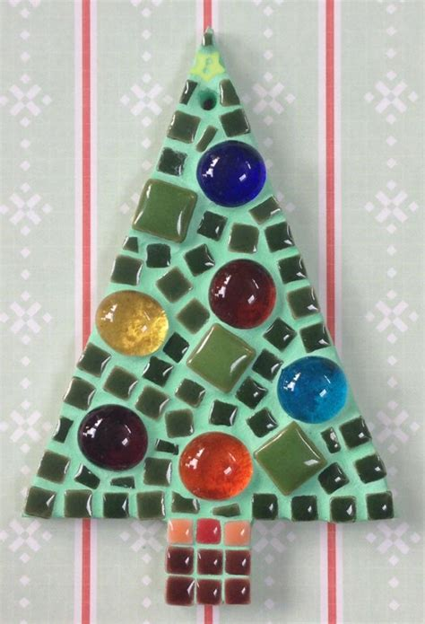 d i y mosaic christmas tree kit